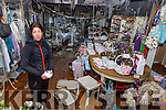 Sarah Durkan whose shop The White Willow in Kenmare town was destroyed by fire last weekend
