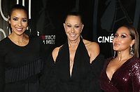 HOLLWOOD, CA - October 08: Julissa Bermudez, Donna Karan, Adrienne Bailon, At 4th Annual CineFashion Film Awards At On El Capitan Theatre In California on October 08, 2017. Credit: FayeS/MediaPunch