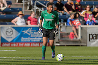 Bridgeview, IL - Sunday June 12, 2016: Adrianna Franch during a regular season National Women's Soccer League (NWSL) match between the Chicago Red Stars and the Portland Thorns at FC Toyota Park.