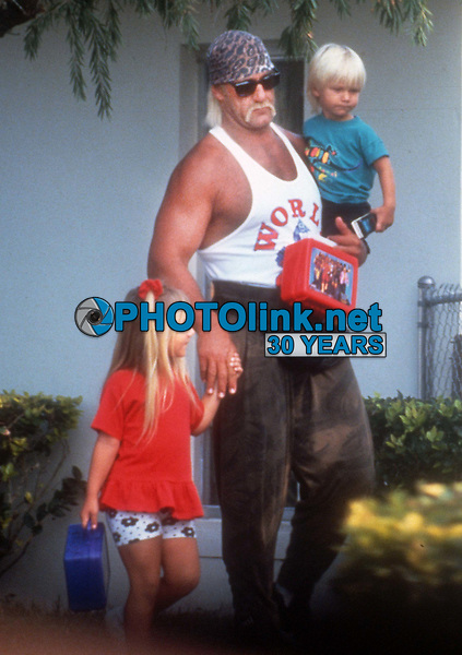 Hulk Hogan 1989<br /> Photo By John Barrett/PHOTOlink