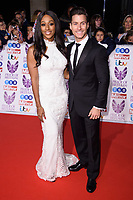 Alexandra Burke and Gorka Marquez<br /> at the Pride of Britain Awards 2017 held at the Grosvenor House Hotel, London<br /> <br /> <br /> &copy;Ash Knotek  D3342  30/10/2017
