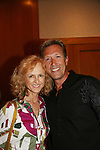 Jill Larson & Walt Willey attend All My Children Fan Luncheon on September 13, 2009 at the New York Helmsley Hotel, NYC, NY. (Photo by Sue Coflin/Max Photos)
