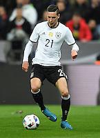 FUSSBALL INTERNATIONAL TESTSPIEL IN DER ALLIANZ ARENA MUENCHEN Deutschland - Italien    29.03.2016  Julian Draxler (Deutschland)