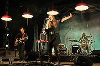 Wir sind Helden Rock im Stadtpark 2011 in Magdeburg. Photo by Ruediger Knuth.