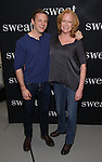 Will Pullen and Johanna Day attends the photocall for the Broadway cast of 'Sweat'  at The New 42nd Street Studios on 2/16/2017 in New York City.