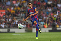 FOOTBALL: FC Barcelone vs Real Betis - La Liga-25/08/2019<br /> Sergio Busquets (FCB)<br />  <br /> 25/08/2019 <br /> Barcelona - Real Betis  <br /> Calcio La Liga 2019/2020  <br /> Photo Paco Largo/Panoramic/insidefoto