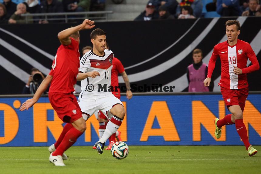 Kevin Volland (D) - Deutschland vs. Polen, WM-Vorbereitung Testspiel, Imtech Arena Hamburg
