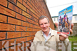 A GEM OF INFORMATION: Kevin Tarrant who puts together Kerry Gems, a visitor guide booklet every year is currently distributing copies all across the county.