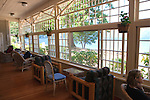 Lake Crescent Lodge has terrific views from the old fashioned sun porch.  Lake Crescent, over 600 feet deep, lies along U.S. 101 within Olympic National Park.  Olympic Penninsula, Washington.  Outdoor Adventure. Olympic Peninsula