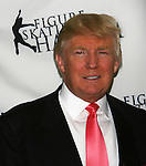 Donald Trump at Skating with the Stars (celebrities & Olympic skaters), a benefit gala for Figure Skating in Harlem on April 6, 2010 at Wollman Rink, Central Park, New York City, New York. (Photo by Sue Coflin/Max Photos)