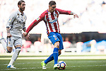 Fernando Torres of Atletico de Madrid in action during their La Liga match between Real Madrid and Atletico de Madrid at the Santiago Bernabeu Stadium on 08 April 2017 in Madrid, Spain. Photo by Diego Gonzalez Souto / Power Sport Images