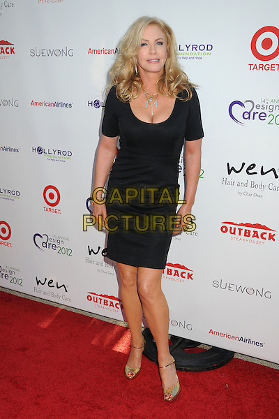 Shannon Tweed, Shannon Tweed-Simmons.14th Annual DesignCare Benefit for the HollyRod Foundation held at a Private Residence,- Malibu, California, USA, .21 July 2012..full length  dress black .CAP/ADM/BP.©Byron Purvis/AdMedia/Capital Pictures.