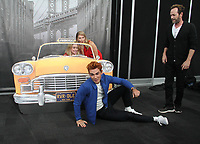 NEW YORK, NY - October 07: Lili Reinhart, Madchen Amick, Luke Perry, KJ Apa, at the CW's Riverdale photo call at New York Comic Con 2018 at the Jacob K. Javits Convention Center in New York City on October 07, 2018 <br /> CAP/MPI/RW<br /> &copy;RW/MPI/Capital Pictures