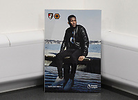 Jefferson Lerma of AFC Bournemouth on the front of the match day programme during AFC Bournemouth vs Wolverhampton Wanderers, Premier League Football at the Vitality Stadium on 23rd February 2019