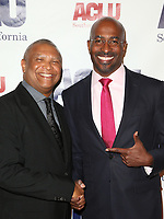 BEVERLY HILLS, CA - DECEMBER 3: Reginald Hudlin, Van Jones, at ACLU SoCal's Annual Bill Of Rights Dinner at the Beverly Wilshire Four Seasons Hotel in Beverly Hills, California on December 3, 2017. Credit: Faye Sadou/MediaPunch /NortePhoto.com NORTEPHOTOMEXICO