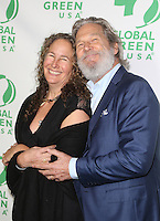 Hollywood, CA - February 22: Jeff Bridges, Dianna Cohen, At 14th Annual Global Green Pre Oscar Party, At TAO Hollywood In California on February 22, 2017. Credit: Faye Sadou/MediaPunch