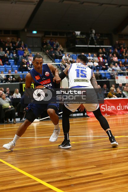 NELSON, NEW ZEALAND - JUNE 1 NBL Basketball, Mike Pero Nelson Giants v Saints on June 1 at Trafalgar Centre 2019 in Nelson, New Zealand. (Photo by: Evan Barnes Shuttersport Limited)