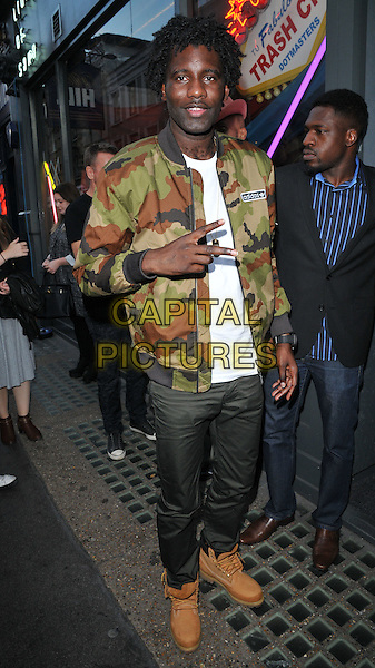 Wretch 32 ( Jermaine Scott Sinclair ) attends the Professor Green's &quot;Lucky&quot; book launch party, Lights of Soho, Brewer Street, London, England, UK, on Thursday 10 September 2015. <br /> CAP/CAN<br /> &copy;Can Nguyen/Capital Pictures