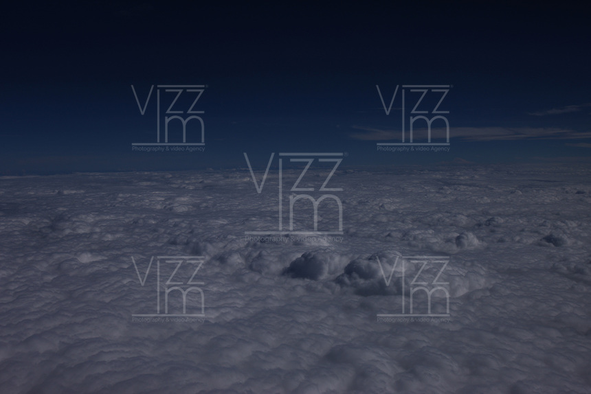 BOGOTA- COLOMBIA. Nubes. / Clouds. Photo: VizzorImage/ STR