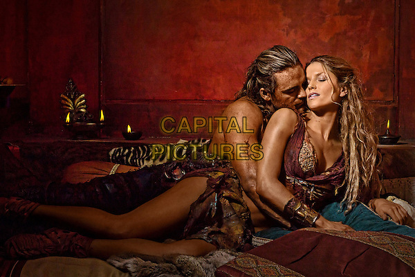 Dustin Clare, Ellen Hollman <br /> in Spartacus: War of the Damned<br /> (Spartacus: Blood and Sand)<br /> *Filmstill - Editorial Use Only*<br /> CAP/FB<br /> Image supplied by Capital Pictures