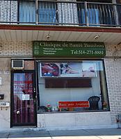 Salon de massages et Prostitution<br /> .<br /> <br /> PHOTO :  Agence Quebec Presse
