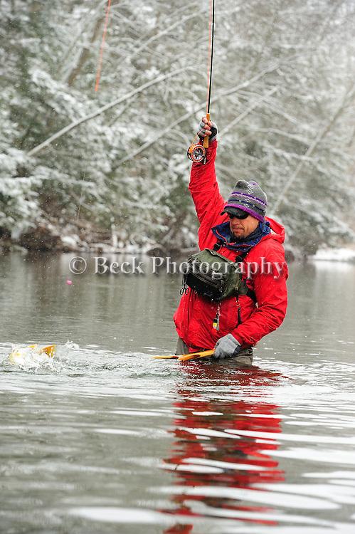 Fishing Creek in the winter season