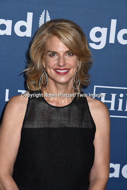GLAAD President and Ceo Sarah Kate Ellis attends the 27th Annual GLAAD Media Awards on May 14, 2016 at the Waldorf Astoria Hotel in New York City, New York, USA.<br /> <br /> photo by Robin Platzer/Twin Images<br />  <br /> phone number 212-935-0770