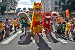 Celebraçao do Ano Novo Chines, Bairro da Liberdade. Sao Paulo. 2016. Foto de Levi Bianco.