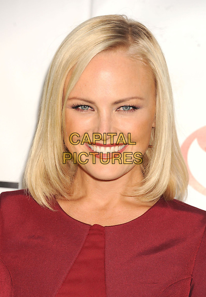 Malin Akerman.The 2012 Environmental Media Awards at Warner Bros. Studios in Burbank, California, USA..September 29th, 2012   .headshot portrait pink fuschia smiling EMA EMAS  .CAP/ROT/TM.©Tony Michaels/Roth Stock/Capital Pictures