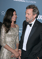 Hugh Laurie and Odette Annable at Fox's 'House' series finale wrap party at Cicada on April 20, 2012 in Los Angeles, California. © mpi21/MediaPunch Inc.