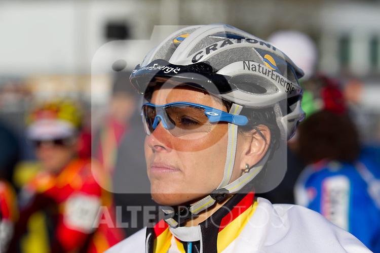 30.01.2011, GER, UCI Cyclo Cross World Championship 2011, im Bild Sabine Spitz (GER), Foto © nph /  A. Neis