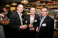 Left to right are Darren Fretwell, David Carlton Ashton and John Land all from Svenska Handelsbanken