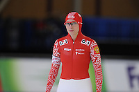 SCHAATSEN: BERLIJN: Sportforum, 06-12-2013, Essent ISU World Cup, Team Russia, 500m Ladies Division B, Yekaterina Shikova (RUS), ©foto Martin de Jong