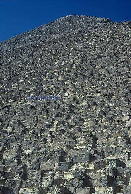 Pyramid, Giza, Egypt.