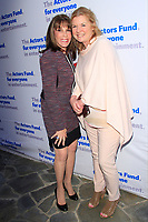 LOS ANGELES - APR 9: Kate Linder, Meg Thomas at The Actors Fund's Edwin Forrest Day Party and to commemorate Shakespeare's 453rd birthday at a private residence on April 9, 2017 in Los Angeles, California