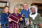 Denis O'Shea, Pat O'Connor, Tim Regan and Ian Flude from the Kerry Bee Keepers Association who are holding a Spring course for new beekeepers in the Teagus office in Killarnney