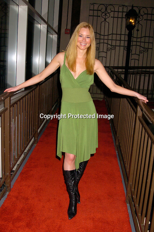 Jessica Morris ..at ABC Casino Night on October 7, 2004 at The Lighthouse..at Chelsea Piers. ..Photo by Robin Platzer, Twin Images
