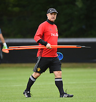 20170722 - RIJEN , NETHERLANDS :  coach Ives Serneels pictured during the training on the pitch of VV Rijen , The Netherlands PHOTO SPORTPIX.BE | DIRK VUYLSTEKE