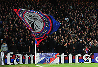 Crystal Palace fans <br /> <br /> Photographer Ashley Crowden/CameraSport<br /> <br /> The Premier League - Crystal Palace v Burnley - Saturday 13th January 2018 - Selhurst Park - London<br /> <br /> World Copyright &copy; 2018 CameraSport. All rights reserved. 43 Linden Ave. Countesthorpe. Leicester. England. LE8 5PG - Tel: +44 (0) 116 277 4147 - admin@camerasport.com - www.camerasport.com
