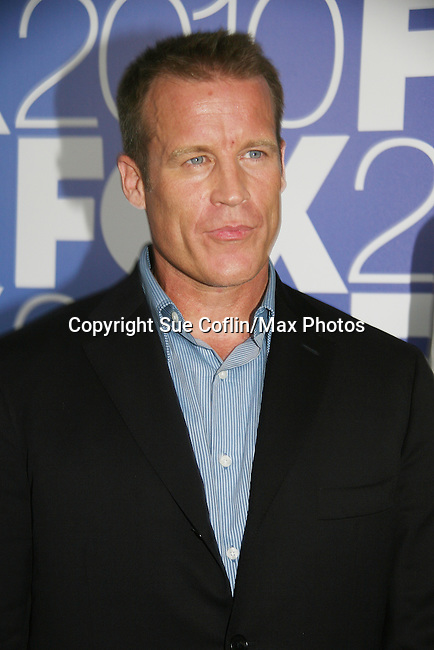 Mark Valley - Days - stars in Human Target on Fox as he attends the FOX 2010 Programming Presentation (Upfronts) Post-Party on May 18, 2010 at Wollman Rink in Central Park, New York City, New York.  (Photo by Sue Coflin/Max Photos)