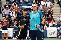 Rafael Nadal of Spain and Kevin Anderson of South Africa before the Men's Final on day 14 of the Us Open 2017 at USTA Billie Jean King National Tennis Center on September 10, 2017 in New York City. (Photo by Marek Janikowski/Icon Sport)