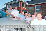 Raffle: Members of the Listry Community Council who are raffling a Renault Megane in aid of Listry Community Centre..Photographed at the centre on Friday evening, L/R Noel OSullivan, Charlie OConnor, George Kelly, Weeshie Fogarty,.Philip ONeill, Joan Curran and Peggy Moriarty