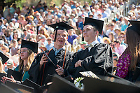 Occidental College commencement for the class of 2017, May 21, 2017.<br /> (Photo by Marc Campos, Occidental College Photographer)