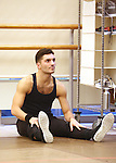 Sean Rozanski warming up during the North American Premiere presentation of 'The Bodyguard' at The New 42nd Street Studios on November 10, 2016 in New York City.