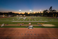 Oxy's football game against Claremont-Mudd-Scripps on Homecoming weekend, Oct. 25, 2014. (Photo by Marc Campos, Occidental College Photographer)