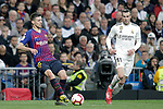 Real Madrid CF's Gareth Bale and FC Barcelona's Ousmane Dembele during La Liga match. March 02,2019. (ALTERPHOTOS/Alconada)