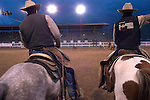 WY: Wyoming, Cody:.At the Cody night rodeo..Photo #: yellow758..Photo copyright Lee Foster, 510/549-2202, lee@fostertravel.com, www.fostertravel.com..