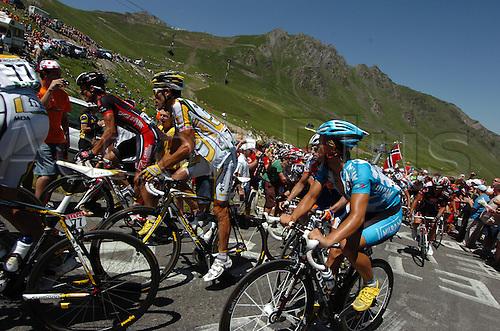 2009, Tour de France, tappa 09 Saint Gaudens - Tarbes, Columbia - High Road, Milram, Hincapie George, Gerdemann Linus, Tourmalet July 11th 2009.  Stage 9 (Photo: Stefano Sirotti/ActionPlus)