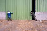 Catherien dirige son exploitation avec sa mere                                                        Catherine Kervran, agricultrice de 35 ans, à Plourin lès morlaix, est à la tête d'une exploitation laitière familiale d'une soixante de vaches laitière, .  Ces journees a 7 heures du matin par une premiere traite. La journee elle se consacre à l'entretien de son exploitation et des animaux. Une deuxieme traite a lieu à 18 heures.                                             Agricultrice depuis la troisième generation, elle dirige son exploitation avec sa mere. Son père à la retraite vient lui donner de l'aide régulièrement. Les autres jours de la semaine un employé agricole travaille à mi temps sur l'exploitation.                                                                Catherine Kervran est à l'origine de la création du collectif des agricultrices en coleres, qui regroupe plus d'une centaine d'exploitante de toute la bretagne.                                                                    La commune de Plourin-les-Morlaix regroupe 36 exploitations, principalement en production laitière. La production se situe à 11 millions de litres, ce qui fait de cette commune en 2ème en terme de production laitiere---- INFO A CONFIRMER.