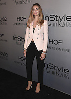 LOS ANGELES - OCTOBER 24:  Chiara Ferragni at the 2nd Annual InStyle Awards at The Getty Center on October 24, 2016 in Los Angeles, California.Credit: mpi991/MediaPunch
